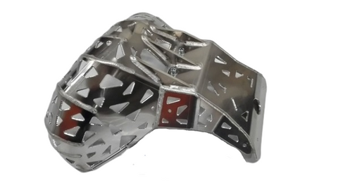 Skid Plate with Exhaust Guard RR250, RR300