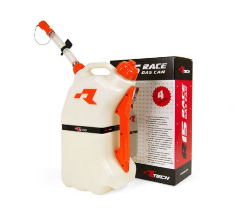 R-Tech Fuel Can 15Ltr Orange