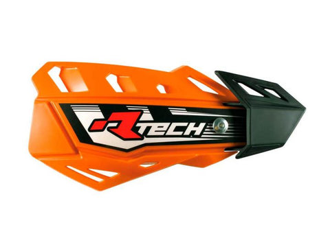 R-Tech Handguards FLX Complete with Mounting Kit Orange