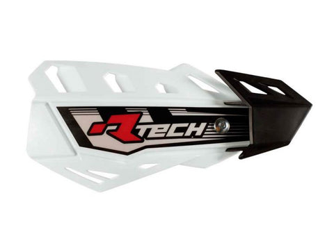 R-Tech Handguards FLX Complete with Mounting Kit White