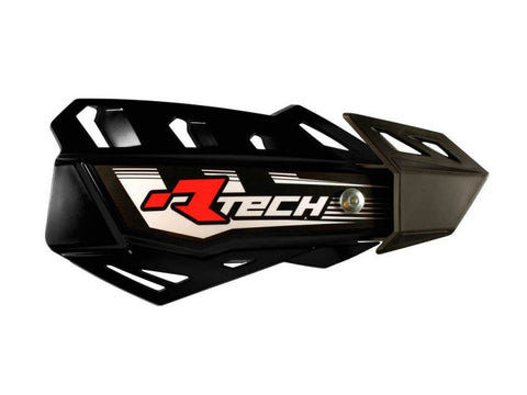 R-Tech Handguards FLX Complete with Mounting Kit Black
