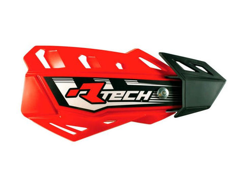 R-Tech Handguards FLX Complete with Mounting Kit CRF Red