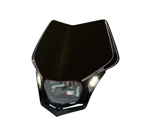 R-Tech V-Face LED Headlight Black