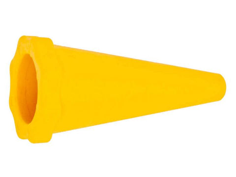 R-Tech Exhaust End Cap Yellow