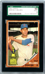 1962 Topps SGC GRADED 50  Billy Williams