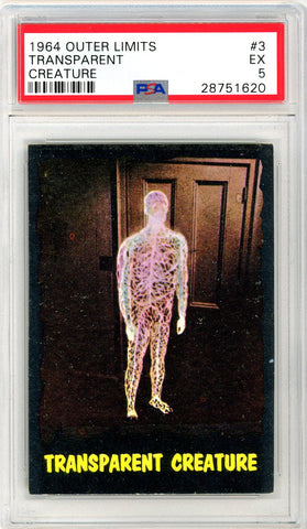 1964 Outer Limits #03 PSA GRADED 5