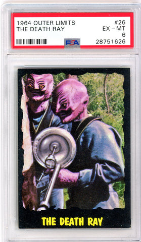 1964 Outer Limits #26 PSA GRADED 6 - SOLD!