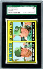 1967 Topps SGC GRADED 60 - Sal Bando - Rookie