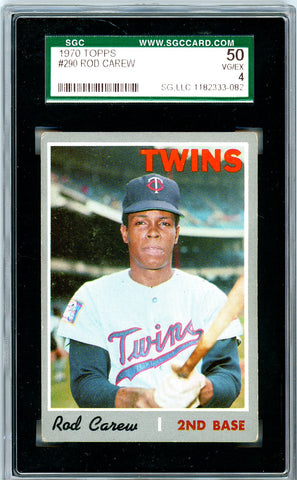 1970 Topps SGC GRADED 50 - Rod Carew