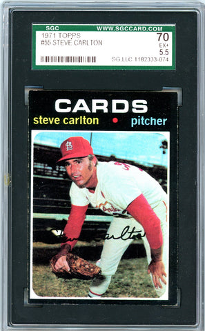 1971 Topps SGC GRADED 70 - Steve Carlton