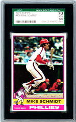 1976 Topps SGC GRADED 70 - Mike Schmidt