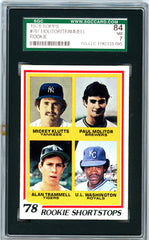1978 Topps SGC GRADED 84  Molitor/Trammell  Rookie SOLD!