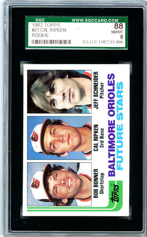 1982 Topps SGC GRADED 88 - Cal Ripken - Rookie SOLD!