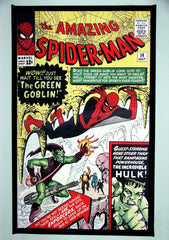 CLASSIC COVER ON CANVAS - Amazing Spider-Man #14 - SOLD! (back in stock)