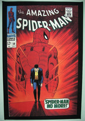 CLASSIC COVER ON CANVAS - Amazing Spider-Man #50 - SOLD! (back in stock)
