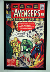CLASSIC COVER ON CANVAS - Avengers #1 - SOLD!  (back in stock)