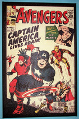 CANVAS - SEMI-GLOSS FINISH  Avengers #04
