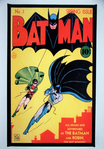 CLASSIC COVER ON CANVAS - Batman #1 - SOLD!  (on back order)