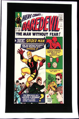 CLASSIC COVER ON CANVAS - Daredevil #1 - ROLLED CANVAS ONLY