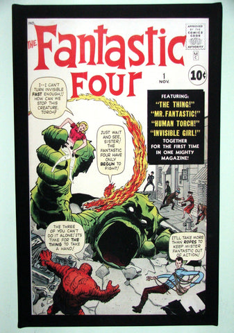 CANVAS - Fantastic Four #01