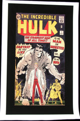 CLASSIC COVER ON CANVAS - Incredible Hulk #1 - ROLLED CANVAS ONLY
