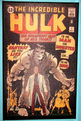CANVAS - SEMI-GLOSS FINISH Incredible Hulk #1