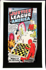 ROLLED CANVAS ONLY - Justice League of America #1