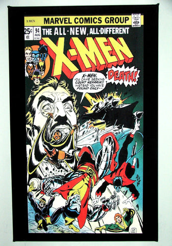 CLASSIC COVER ON CANVAS - X-Men #94 - first new X-Men
