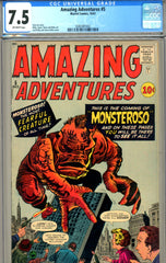 Amazing Adventures v1961 #5   CGC graded 7.5