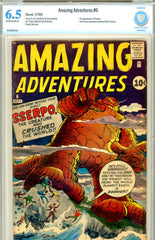 Amazing Adventures v1961 #6  CBCS graded 6.5