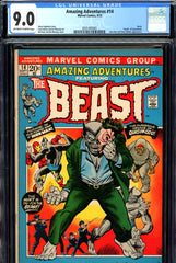 "Amazing Adventures #014 CGC graded 9.0 death of ""Quasimodo"""