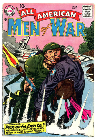 All American Men of War #57   FINE   1958