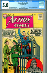 Action Comics #248 CGC graded 5.0 first Congorilla