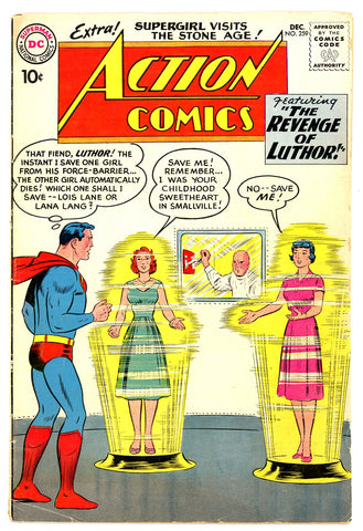 Action Comics #259   VERY GOOD   1959