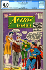 Action Comics #261 CGC graded 4.0 first Streaky the Cat