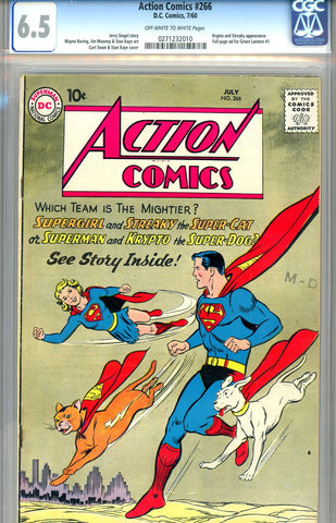 Action Comics #266  CGC graded 6.5 - SOLD!