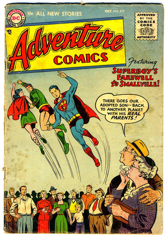 Adventure Comics #217   G/VERY GOOD   1955
