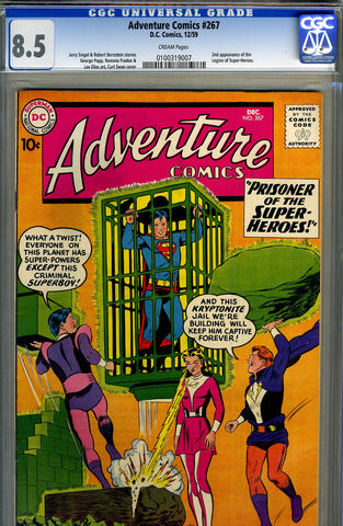 Adventure Comics #267   CGC graded 8.5 - SOLD