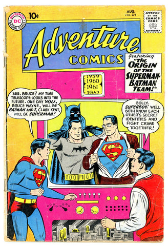 Adventure Comics  #275  VERY GOOD-   1960