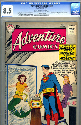 Adventure Comics #280   CGC graded 8.5 - SOLD