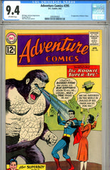 Adventure Comics #295 CGC graded 9.4 first Bizarro Titano