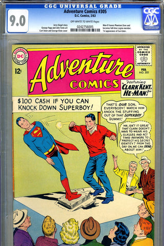 Adventure Comics #305   CGC graded 9.0 - SOLD!