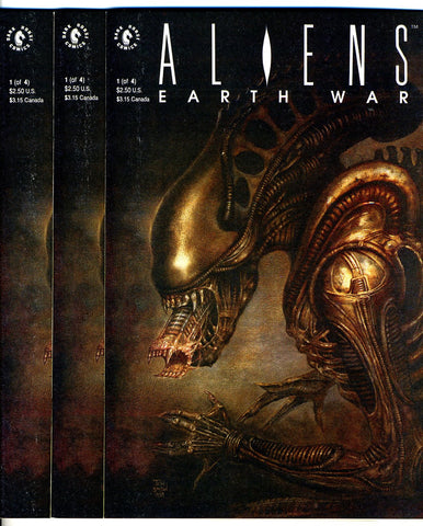 DH - Aliens Earth War #1 - NEAR MINT! all UNREAD - nine copies