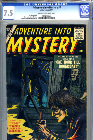 Adventure Into Mystery #7   CGC graded 7.5 SOLD!