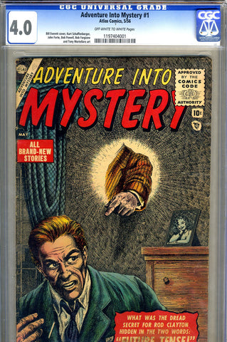 Adventure into Mystery #1   CGC graded 4.0 - scarce - SOLD!