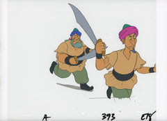 "Original production cel -""Aladdin""- by Golden Films 006"