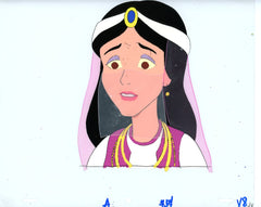 "Original production cel -""Aladdin""- by Golden Films 011"