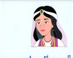 "Original production cel -""Aladdin""- by Golden Films 012"
