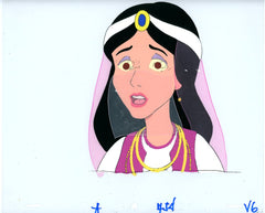 "Original production cel -""Aladdin""- by Golden Films 013"