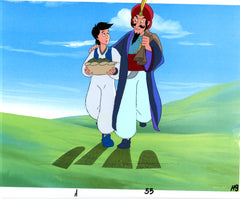 "Original production cel -""Aladdin""- by Golden Films 028"